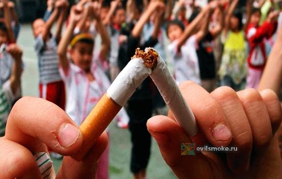 Нет курению в школах
