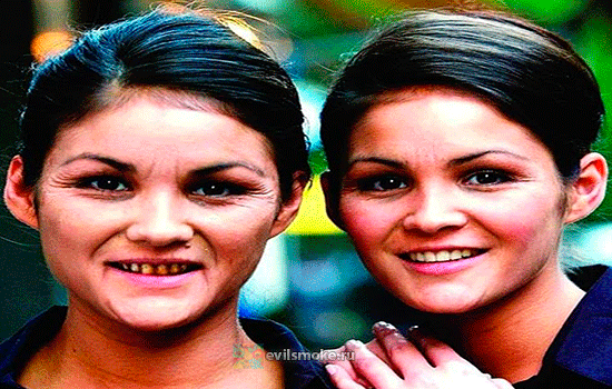 Сестры двойняшки