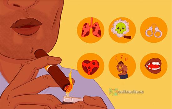 Foto - Болезни и курение