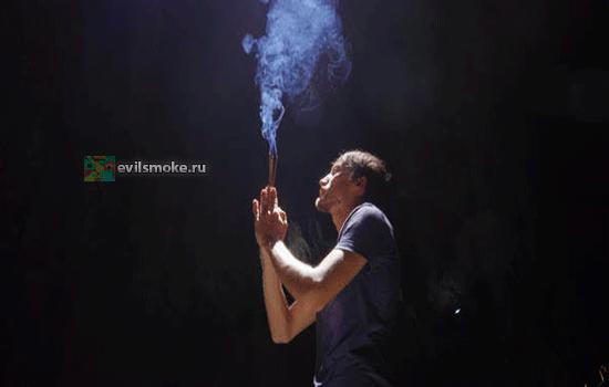 Foto - Мужчина и дым