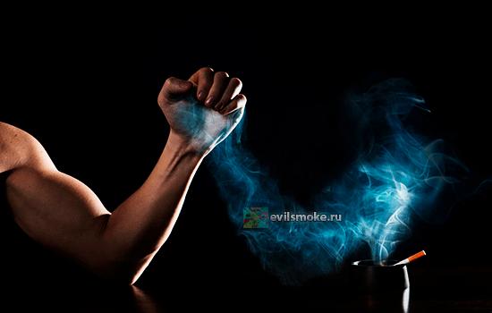 Фото - Человек против дыма