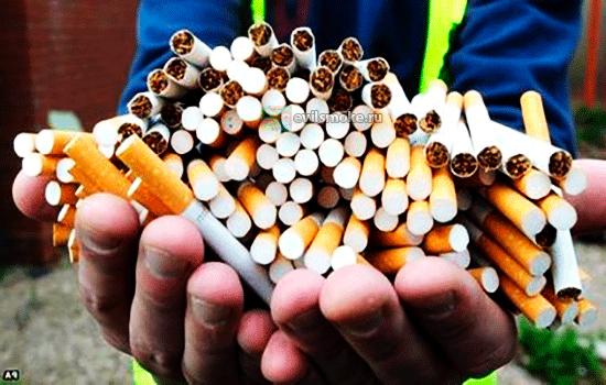 Фото - Жмень сигарет
