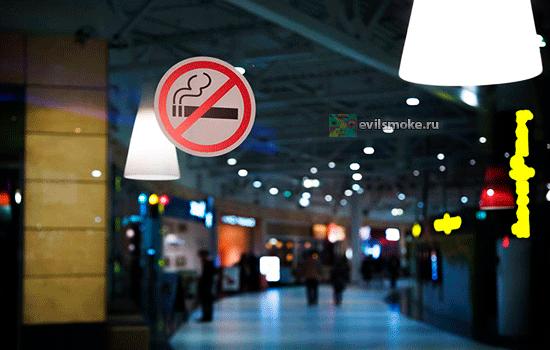 Фото - Курение запрещено знак