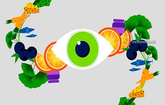 Фото - Глаз и фрукты