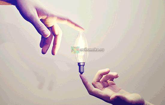 Фото - Лампочка в руках