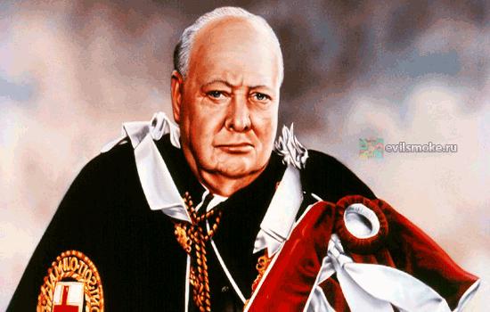 Фото - Пожилой Черчилль