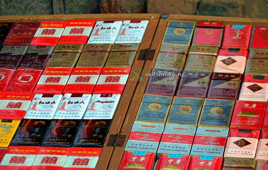 Фото - Прилавок с сигаретами