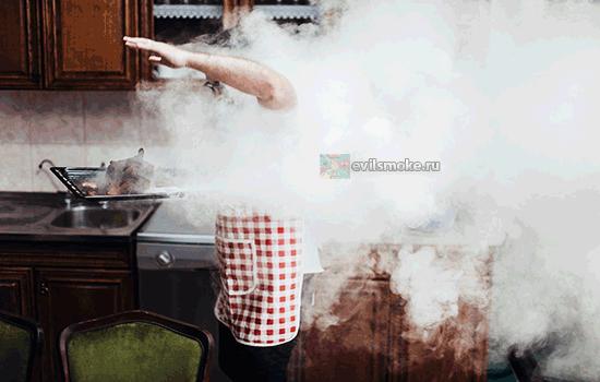 Фото - Человек в дыму